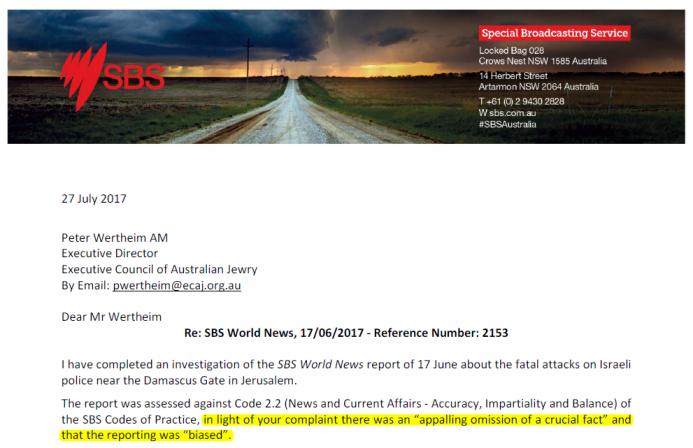 SBS Outcome